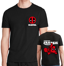 Finding Francis T-Shirt man Funny Deadpool cotton casual tops harajuku 2017 summer brand clothing fashion t shirts men homme mma