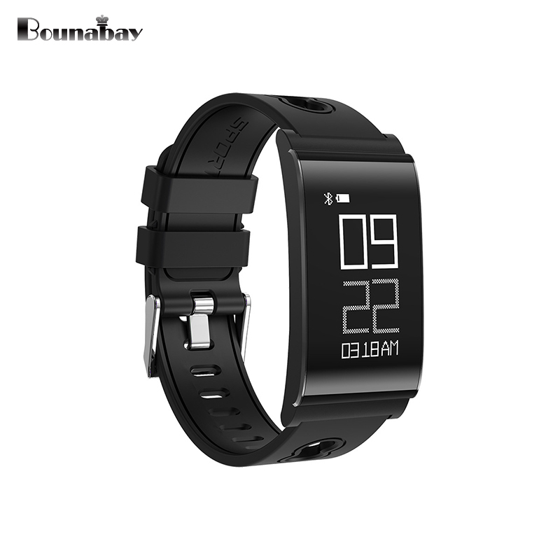 BOUNABAY Ultrathin Smart watch for man Bluetooth Multi-lingual Watches Men Clock Android ios phone wifi Automatic mans Clocks<br>