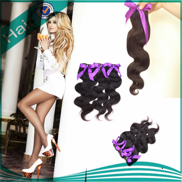 Peruvian hair weft virgin human hair extensions body wave no tangle no shed 4pcs natural black present 1pcs 50g body wave weave<br><br>Aliexpress
