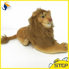 2016 New Arrival 30cm 3D Simulation Lion Plush Toys Sitting Lion Soft Animal Toys Home Decoration ST105