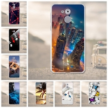 Silicone Case For Huawei Nova Smart Cover for Honor 6C Case 3D Soft TPU For Huawei enjoy 6S Mobile Phone Bags Coque