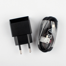 New Original Sony EP880 Wall charger Travel charger + EC801 Cable For Sony Xperia Z Ultra Z1 Z2 Z3 Z4 Z5