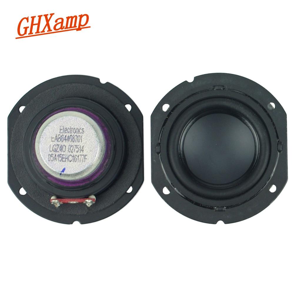 "2pcs 2.25/""inch 54MM 4//8ohm 5W full-range speaker Loudspeaker Neodymium  PU edge"