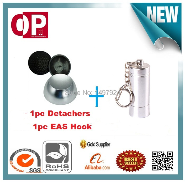 12000gs Universalmagnetic security tag removers with 1pc mini portable pocket detacher hook key<br>