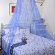 Dome Elegent Lace Summer House Bed Netting Canopy Circular Mosquito Net Efficient Mosquito Net Double King Size