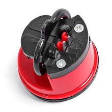 1 Piece Steel Knife Sharpener with suction pad Scissors Grinder Secure Suction Chef Pad Kitchen Sharpening Tool