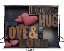 Love picture background Heart background Valentine's Day Photography backdrops 210x150cm SJOLOON Backgrounds for photo studio
