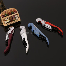 Waiter's Wine Tool Bottle Opener Sea horse Corkscrew Knife Pulltap Double Hinged Corkscrew 100pcs
