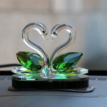 Swan, creative home decoration crystal crafts, wedding gifts and Christmas gifts