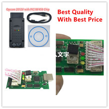 2017 Newest OP COM For Opel V1.59 obd 2 OP-COM/OPCOM V1.59 with PIC18F458 CAN BUS Interface diagostic tool Free Ship