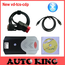 2pcs+DHL Free ship! new vci vd tcs cdp PRO with bluetooth for cars trucks auto diagnostic obd2 scan tool -in stock!(China)