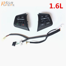 Steering Wheel Button For Hyundai ix25  1.6L Buttons Bluetooth Phone Cruise Control Volume channel Remote Steering Wheel Control