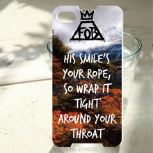 Fall Out Boy Lyrics Cases Hard PC Back Cover Phone Case For Blackberry Z10 Z30 Q20 Q10 Q30 Passport Silver Edit Q5 phone case