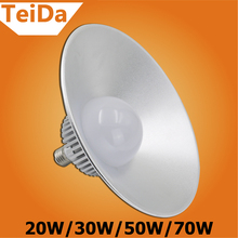 LED High Bay Light  Industrial Led Lamp E27 20W 30W 50W 70W Lighting White Bulb Factory Work Shop Light Professional Litght