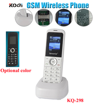 GSM cordless handheld phone , portable gsm wireless telephone for home and offfice use(China)
