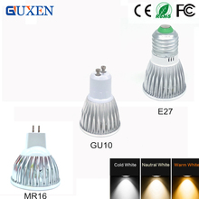 9W 12W 15W led lamp E27/GU10/MR16 Dimmable/No-dimmable led bulbs 85-265V MR16 12V led spotlight light
