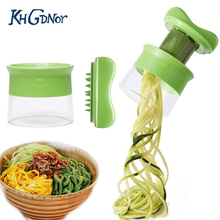 Handheld Vegetable Thread Cutting Device Grater Spaghetti Pasta Alternative Healthy Hand Held Spiralizer