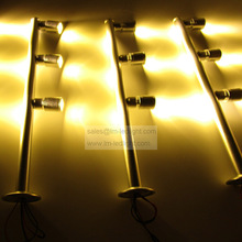 jewelry led display light 3W 110-240V spot light cabinet warm/day/pure white pink yellow blue adjustable led spot lights 80pcs