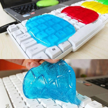 Keyboard Cleaning Compound Gel Transparent Cleaner Keyboard Magic Cyber Laptop Cleaning Tool Kit Sponge Hot Sale High Quality(China)