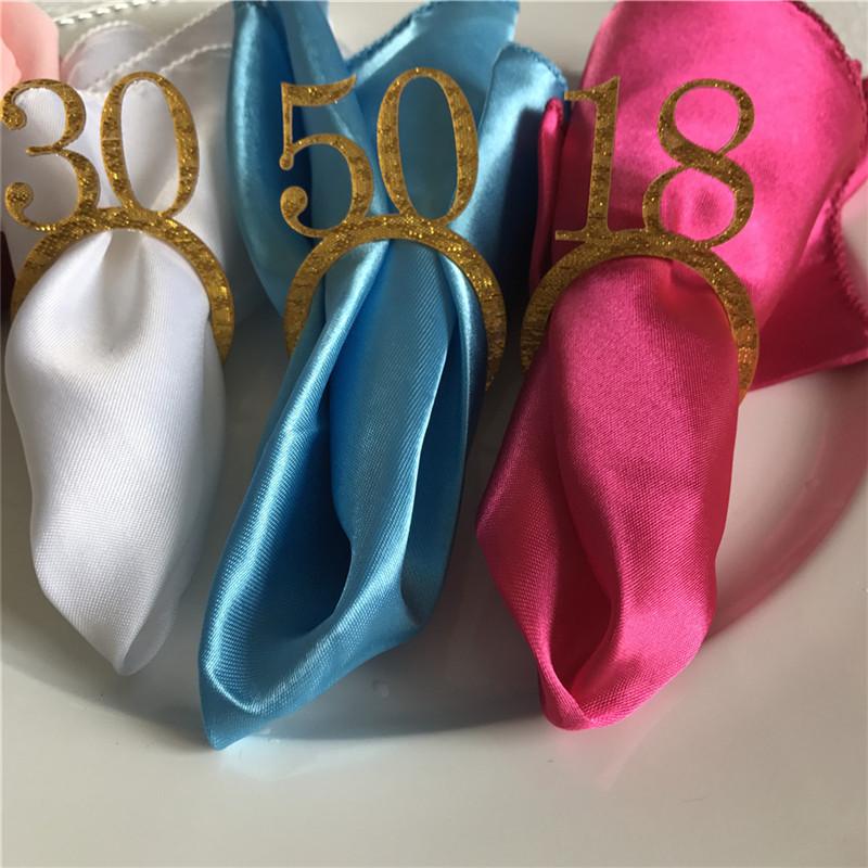 50pcs Personalized Wedding Napkin Rings Custom WoodAcrylic Table Napkin Ring Holder Rustic Wedding Christmas Party Table Decor (4)