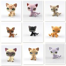 9 Types  Lovely Genuine Pet Collection Action Figure Original Many Pet Shop Cats Kids Gifts