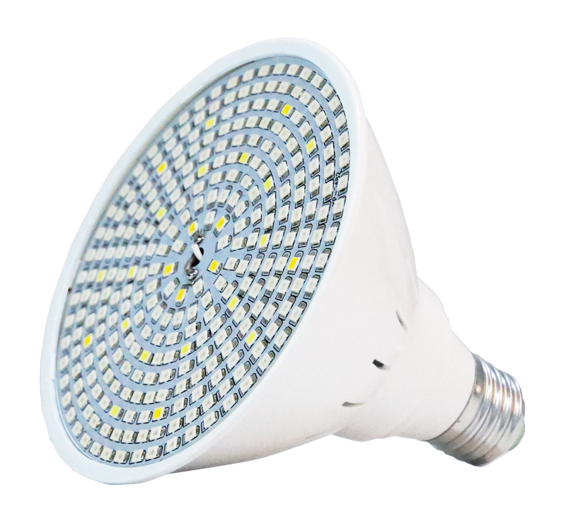 E27 Base 15W 20W 30W led grow light Hydroponic lighting with Clip plants Lamps for hydroponics system indoor garden greenhouse (4)