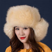 Cappelli di inverno Per Le Donne Dell orecchio Proteggere Cappelli Faux Pelliccia  di Volpe Cappelli 7fa3685984dd