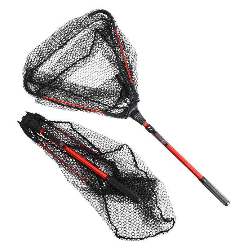 80CM-Folding-Fishing-Net-Triangular-Landing-Fishing-Network-Aluminum-alloy-single-triangle-folding-network-Hand-Fish (1)