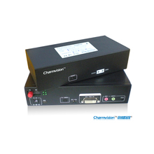 Charmvision EVO-3PVA Audio Keyboard Mouse VGA optical fiber transceiver via single mode single core with USB PS2