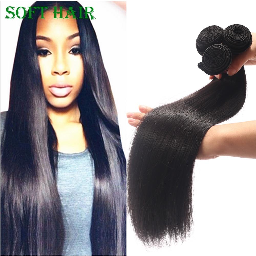 7A Straight Peruvia Virgin Hair 3 Bundles Straight Cheap Human Hair Natural Black Ali Julia Hair<br><br>Aliexpress