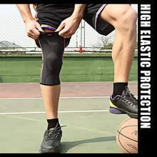 KORAMAN 1pc Fitness crossfit cap knee sleeves powerlifting Sport Knee Pads Knee Runing basketball protect knee brace hinged 1412(China)