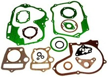 Complete gasket set for the 125cc 4-stroke Horizontal cylinder, Hondo Style engines motorcycle dirt bike ATV quad