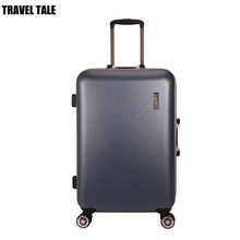 TRAVEL TALE men and women Spinner abs aluminium frame suitcase 20 vintage rolling luggage 24
