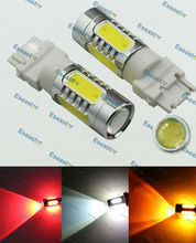 2 pcs/lot Free Shipping 6W LED Spotlight,P27W led lamp,T25 high power led,3156 bulb