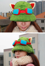 game hat high -quality Ti mo hat COS props plush genuine U.S. version of the game(China)