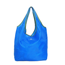 2Pcs/Lot Reusable Foldable Polyester Shopping Promotional Storage Bag Grocery Shopping Tote Bag Accessories Supplies Products