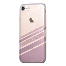 VOUNI coque for  iPhone 7 4.7 inch Phone Cases IMD Oblique Stripes TPU Moblie Bag Case Cover for iPhone 7 capa