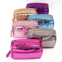 Buy 1PCS Pu Leather Women Cosmetic Bag Waterproof Small Travel Porable Makeup Handbag Make Case Pouch Wash Organizer Neceser for $3.43 in AliExpress store
