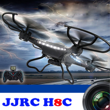 JJRC H8C 2.4GHz Quadcopter 6 Axis Gyro 4 Channel 360 Dgree Mini Drone with Camera HD 2.0MP Professional LED RC Helicopter(China)