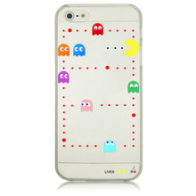 Cute Game Funny Eating Plastic Case for iPhone 4 4S 6 6S