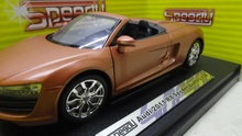 DIE CAST 1:24 2011 R8 Spyder quattro boutique alloy car toys for children kids toys Model gift original box freeshipping(China)