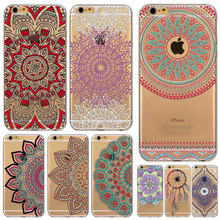 Dream Catcher Painted Phone Case for iphone 4 5 5s SE 5c 6 6s 6plus 7plus fundas capa Soft Transparent Coque Phone case cover