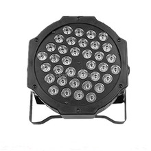 Professional LED Stage Lights 36x3w RGB PAR LED DMX Stage Lighting Effect DMX512 Master-Slave Led Flat for DJ Disco Party KTV