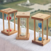 #a 1 minutes timer crystal hourglass plastic safety creative craft ornaments gifts blue Hourglasses