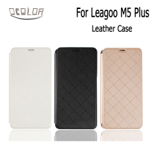 ocolor For Leagoo M5 Plus Battery Case Leather Cover Shell Smartphone Flip Protective Case For Leagoo M5 Plus Cellphone Case(China)