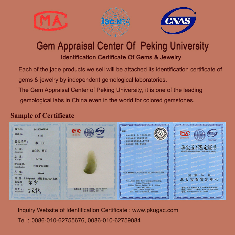 certificate of gems