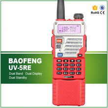 Baofeng / Pofung UV-5RE Dual Band Two Way CB Radio Walkie Talkie 5W 128CH UHF VHF FM VOX Long Battery Portable Transceiver