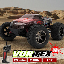 1/12 2WD High Speed RC Car KF S911 Remote Control Car Toys Remote Control Rock Crawler Off Road Dirt Toys Truck Big Wheel(China)