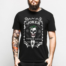 New Punk Ouija Board Gothic T-shirt Cotton Skull Printed Short Sleeve Casual T Shirt Men Hip Hop O Neck Camisetas Brand Clothing(China)