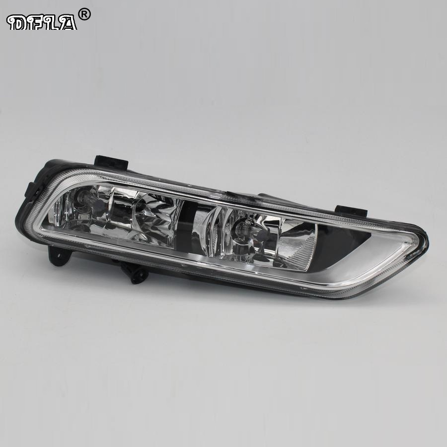 Right Side Car Light For VW Passat B7 2011 2012 2013 2014 2015 Car-Styling Front Halogen Fog Lamp Fog Light<br>